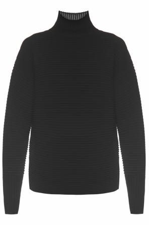 Ribbed turtleneck sweater od Victoria Victoria Beckham