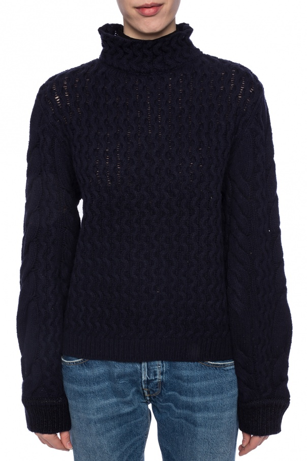 Braided band collar sweater od Victoria Victoria Beckham