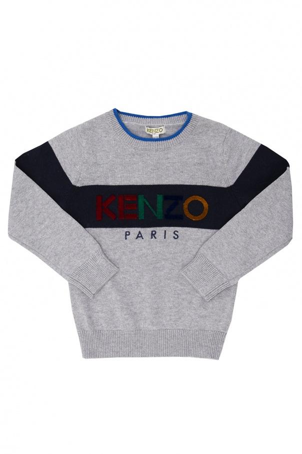 Kenzo Kids Sweater with logo