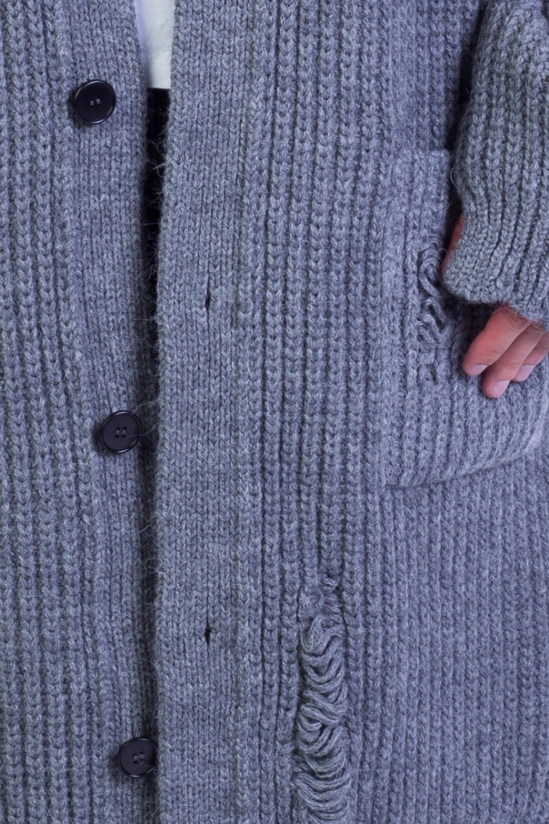 881eb47e9eaa75 Oversized sweater with holes J.W. Anderson - Vitkac shop online