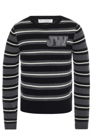 Patched sweater od J.W. Anderson