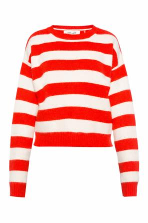 Cropped striped sweater od Diane Von Furstenberg