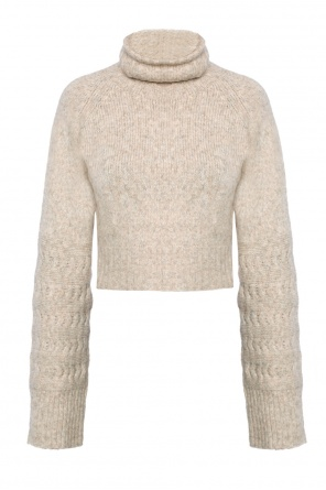 Cropped turtleneck sweater od Diesel