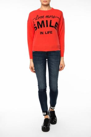 Sweater with lettering od Diesel