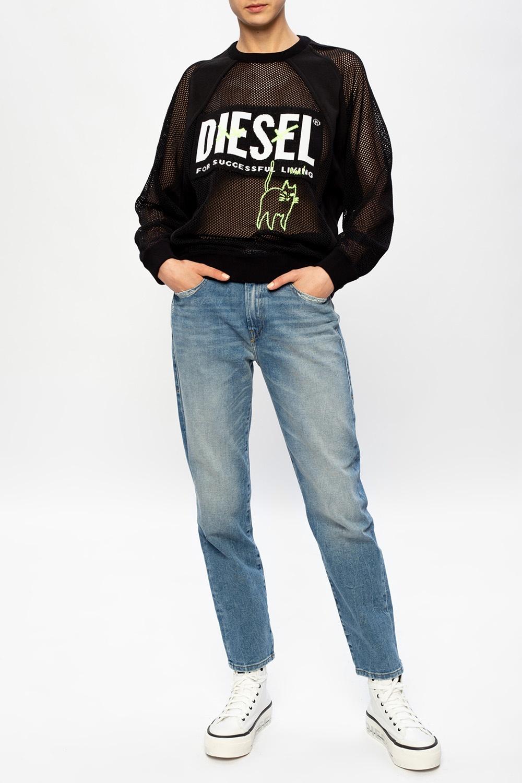 Diesel Bluza z logo
