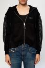 Diesel Knit mesh hoodie