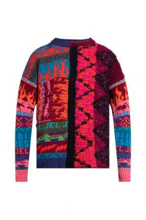 Patterned sweater od Diesel
