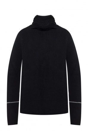 Woven turtleneck top od Lost And Found