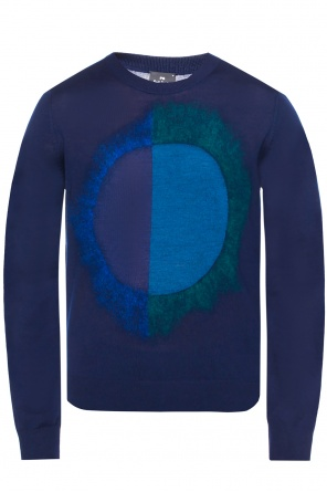 Embroidered sweater od Paul Smith