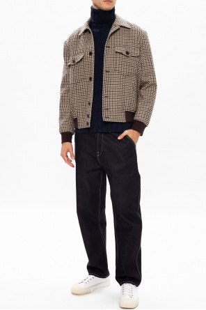 Embroidered turtleneck sweater od PS Paul Smith