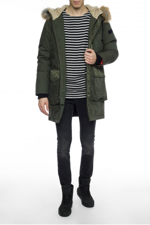 Striped oversize sweater od Allsaints