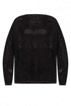 'marcel' braided sweater od AllSaints