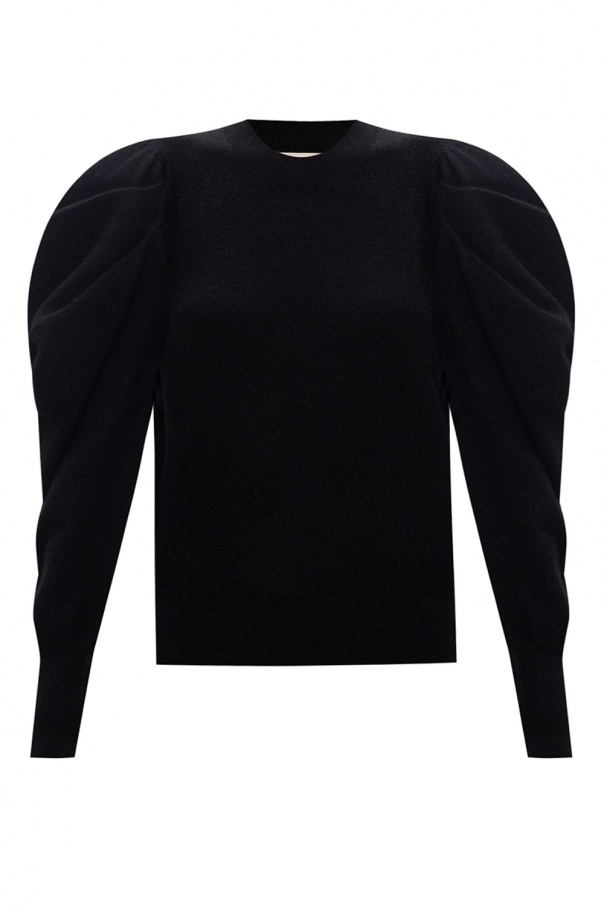 Ulla Johnson 'Marin' sweater with puff sleeves