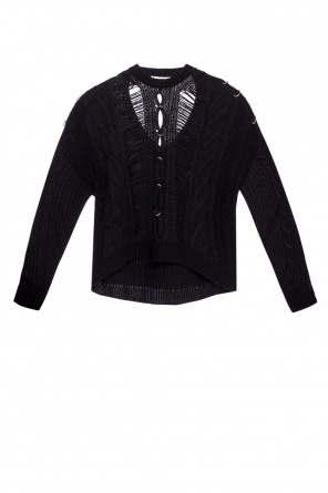 Braided sweater od Diesel Black Gold