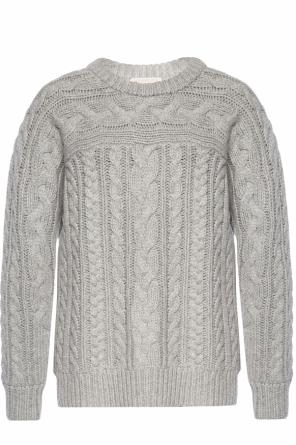 Braided crewneck sweater od Michael Kors