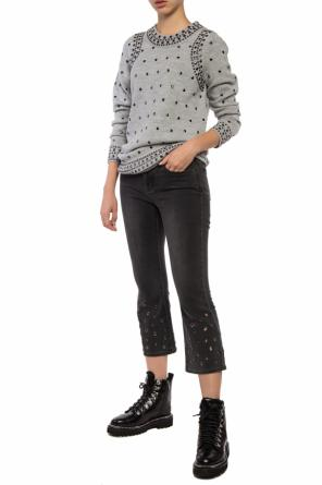 Studded wool sweater od Michael Kors