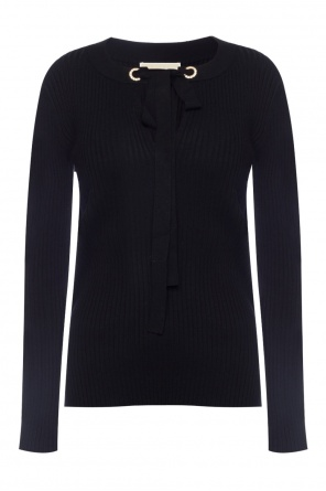 Lacing detail sweater od Michael Kors