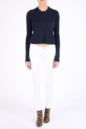 Cropped ribbed sweater od Diesel Black Gold