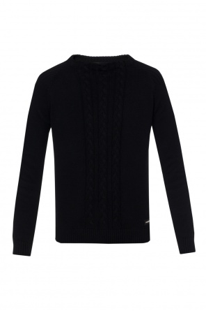 Sweater with braided pattern od Philipp Plein