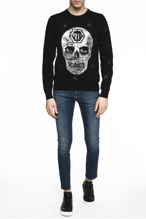 Appliqued sweater od Philipp Plein