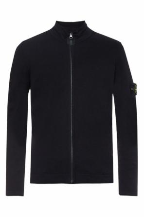 Band collar sweatshirt od Stone Island