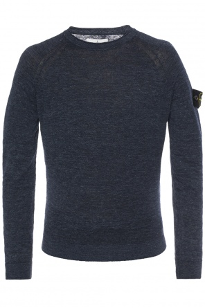 Logo-patched sweater od Stone Island