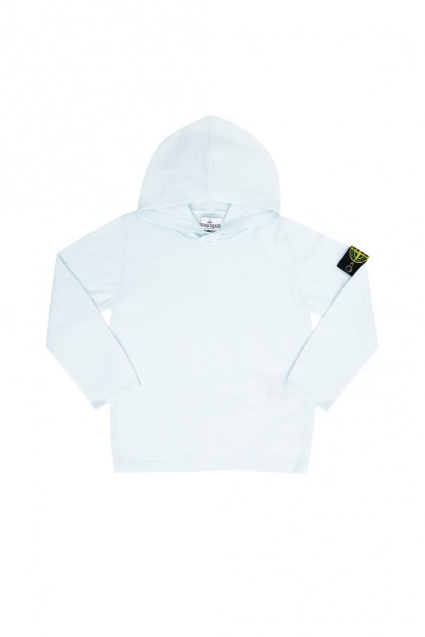 Stone Island Kids Branded hoodie