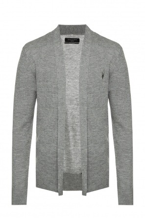 Logo-embroidered ribbed sweater od Allsaints