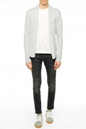 Logo-embroidered cardigan od Allsaints