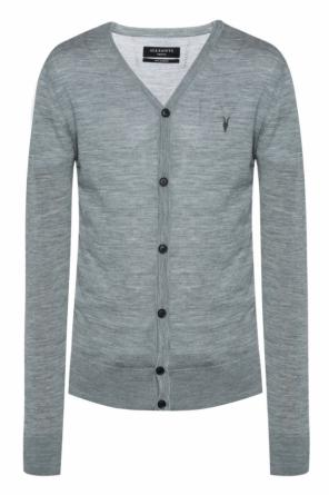 'mode' cardigan with logo od AllSaints