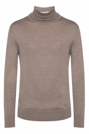 Turtleneck sweater with logo od AllSaints