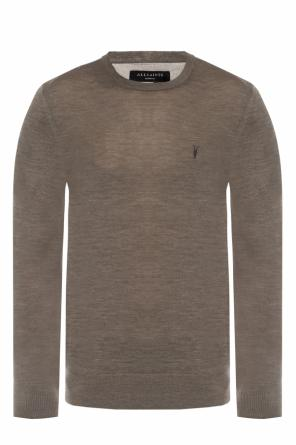 'mode' logo-embroidered sweater od AllSaints