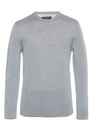 'mode' logo-stitched sweater od AllSaints