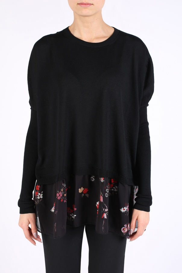 31d38c485411 Oversize sweatshirt Valentino Red - Vitkac shop online