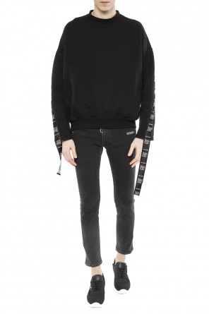 Sweatshirt with decorative stripe od Vetements