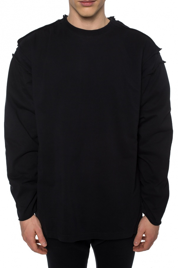 Two-layered oversize sweatshirt od Vetements