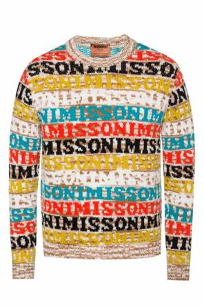Logo-embroidered sweater od Missoni