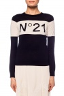 Cardigan with logo od N21