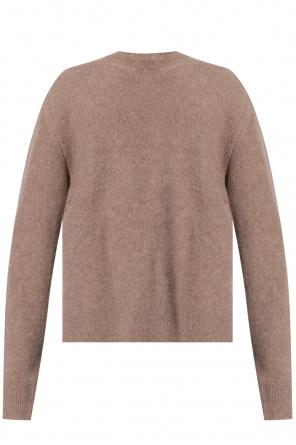 Wełniany sweter od Nanushka