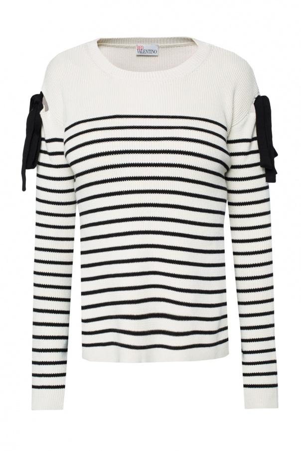 Striped sweater Red Valentino - Vitkac shop online f3359434b