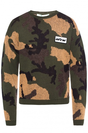 Camo sweater od Off White