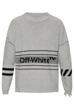 Raw-edge sweater od Off White