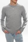 Off-White Sweter z logo