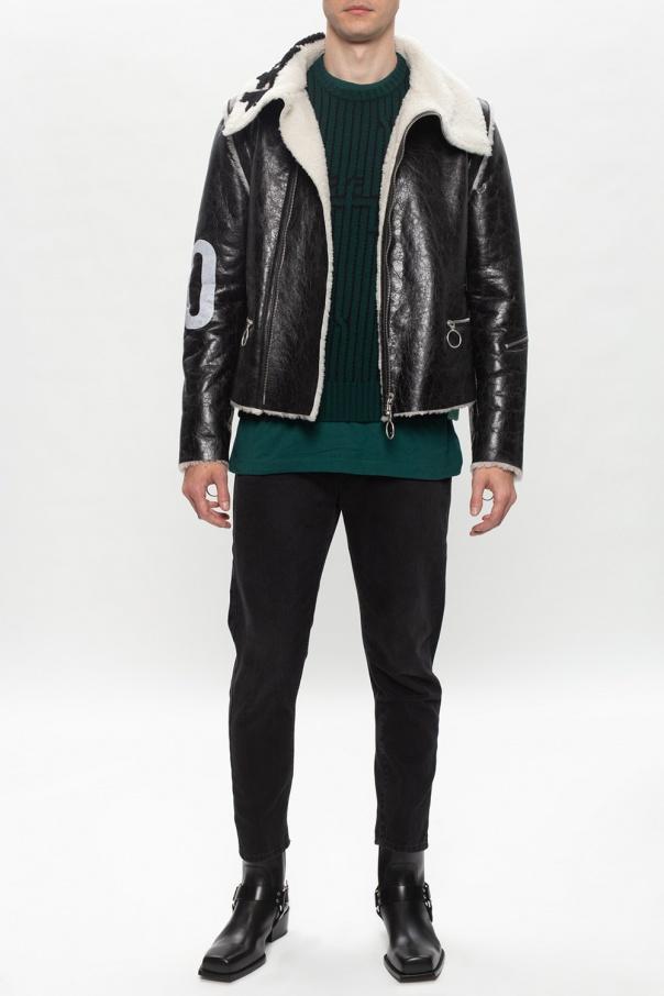 Off-White Wełniany sweter ErRV2KPj