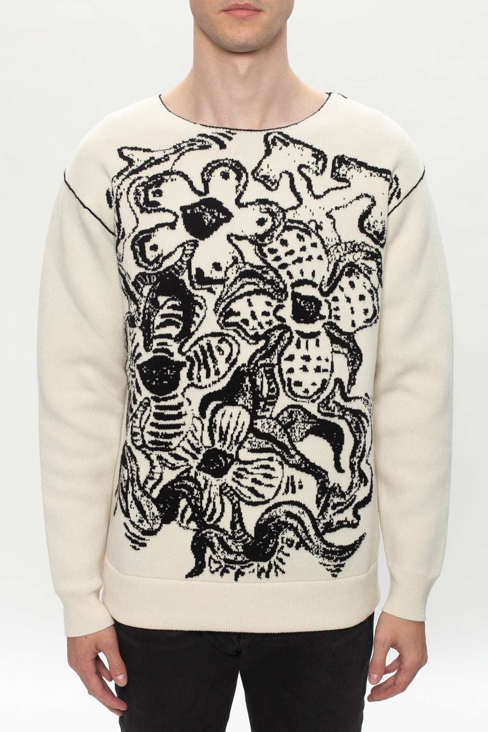 Off-White Patterned sweater