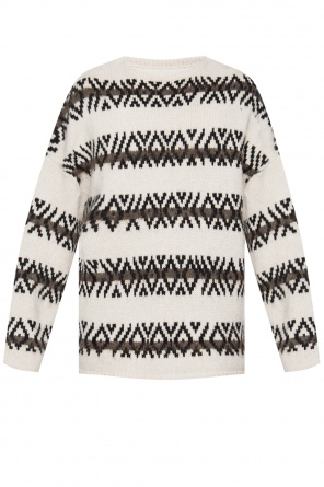 'orvik' patterned sweater od AllSaints