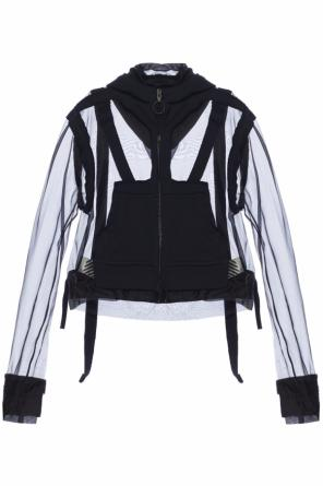 Hooded sheer sweatshirt od Off White