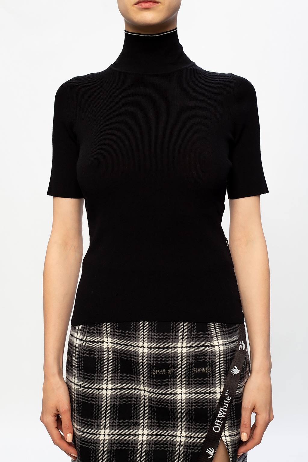 Off-White Band collar top