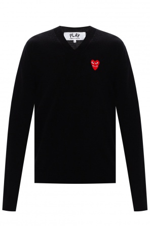 Sweater with logo od Comme des Garcons Play
