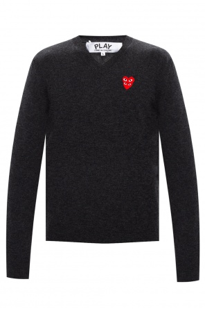 Sweter z logo od Comme des Garcons Play